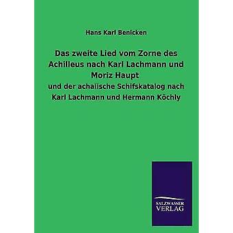 Das Zweite 嘘 Vom Zorne デ Achilleus Nach カール Lachmann Und モーリツ ハウプト Benicken によって・ ハンス ・ カール