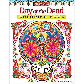 Design Originals-Day Of The Dead Coloring Book