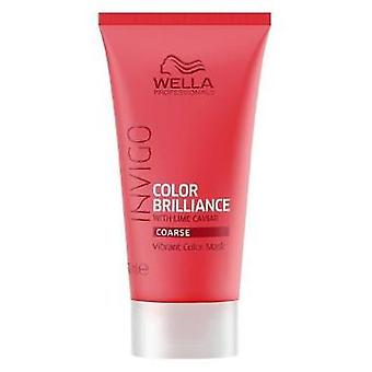 Wella Professionals Invigo Brilliance Mask Fine 30 ml (Cheveux , Masques Capillaire)