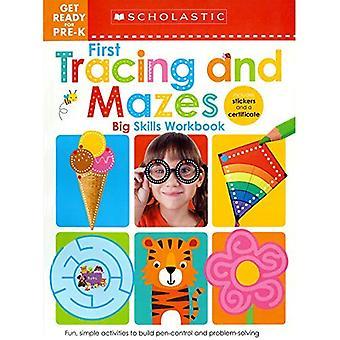 Gör dig redo för pre-K stora färdigheter arbets bok: första tracing och labyrinter (Scholastic Early inlärare) (Scholastic tidiga elever)
