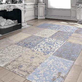 Tappeti - cammeo blu gustaviano Multi - 8237