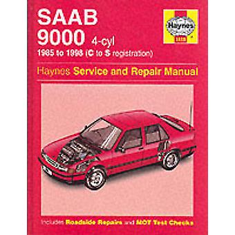 Saab 9000 (4-cylinder) Service and Repair Manual (3rd Revised edition
