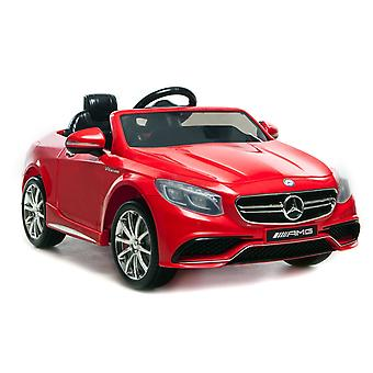 Licensed Mercedes-Benz 63 AMG 6V Twin Motor Ride on Car Red With Parental Remote