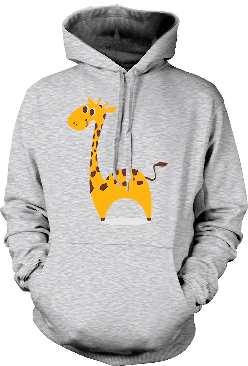 Mens Hoodie - I Love Giraffes - Cute Animal