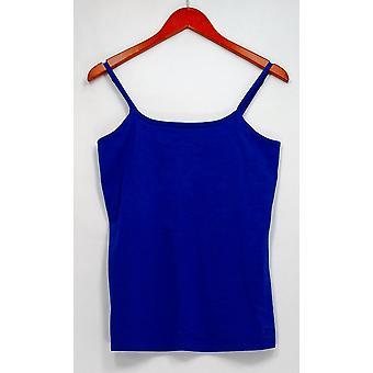Liz Claiborne Camisole Nueva York Essentials Scoop Cuello Camisole Azul A264114