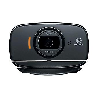 Logitech c525 webcam 1.280 x720 px 30fps interfaccia usb compatibile skype microfono incorporato colore grigio