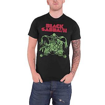 Black Sabbath T Shirt Bloody Sabbath Cutout band logo official Mens Black