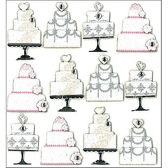 Jolee's Mini Repeats Stickers Wedding Cake E20793