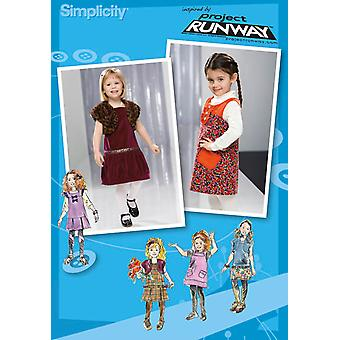 Simplicity Toddlers Dresses 1 2 1 2 3 U02574aa
