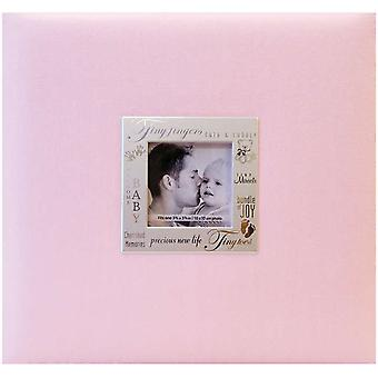 Les expressions Postbound Album 8 « X 8 » Baby Pink 8038 11