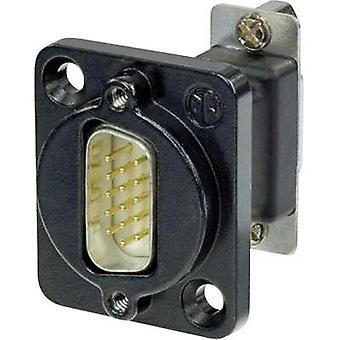 D-SUB adapter D-SUB plug 15-pin - D-SUB socket 15-pin Neutrik NADB15MF-B-CON 1 pc(s)