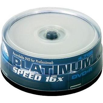 Blank DVD+R 4.7 GB Platinum 100121 25 pc(s) Spindle Printable