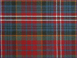 MacPherson Rouge, Muted - Tartan Pure Laine
