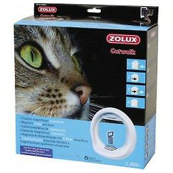 Zolux Catwalk Magnetic 4 Rank Blanca 401080B (Cats , Kennels & Cat Flaps , Cat Flaps)