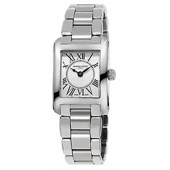 Frederique Constant Womens Carree Stainless Steel Silver Dial FC-200MC16B Watch