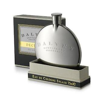 Dalvey Decuria Cologne in Stainless Steel Hip Flask