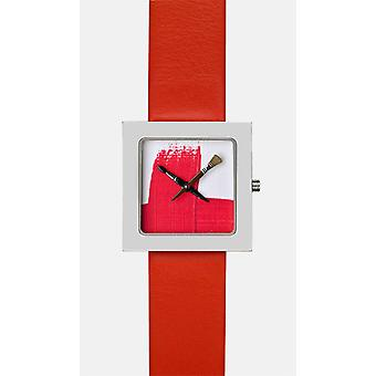 Akteo Red Paint Kubik (6) (Fashion accesories , Watches , Analog)
