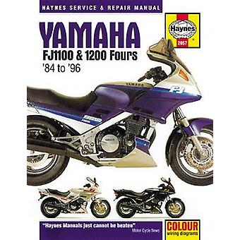 Yamaha FJ1100  1200 Fours Motorcycle Repair Manual by Anon