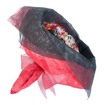 Easter Chocolate Posy - Scarlet Red - Large