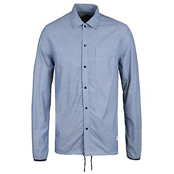 Penfield Blackstone Blue Chambray Coach Overshirt