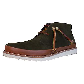 Penguin Ashland Mens Leather Desert Boots / Shoes - Brown