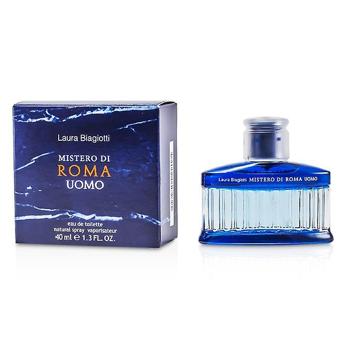 Laura Biagiotti Mistero Di Roma Uomo Eau De Toilette Spray 81190199 40ml / 1.3 oz
