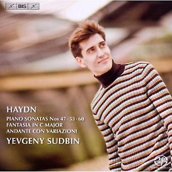 Yevgeny Sudbin - Haydn: Pianosonat nr 47, 53 & 60; Fantasia; Andante Con Variazioni [SACD] USA import