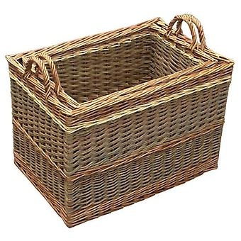 Set of 2 Buttermere Large Log Baskets