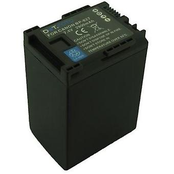 Dot.Foto Canon BP-827 Replacement Battery - 7.4v / 2800mAh