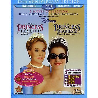 Princess Diaries/Princess Diaries 2: Royal Engagem [BLU-RAY] USA importeren