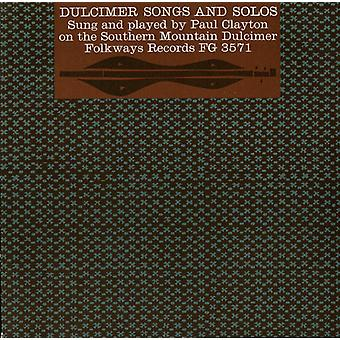 Paul Clayton - Dulcimer sanger & soloer [DVD] USA import