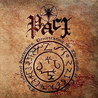 Pact - Infernal Hierarchies Penetrating the Threshold of [CD] USA import