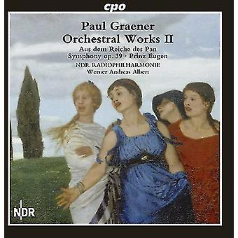 P. Graener - Paul Graener: Orchestral Works, Vol. 2 [CD] USA import