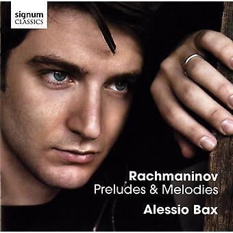 R. Rachmaninov - Rachmaninov: Preludes & Melodies [CD] USA import