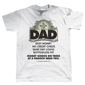 Vectorbomb, Bank av pappa, rolig herr T-Shirt