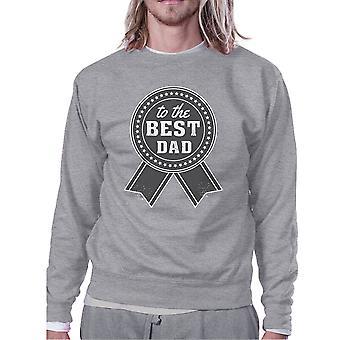 Per il miglior papà grigio felpa per uomini perfetti regali di compleanno di papà