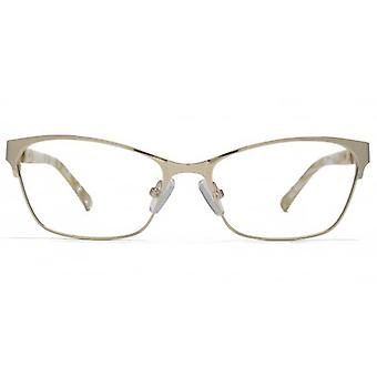 Carvela Upswept Square Glasses In Gold