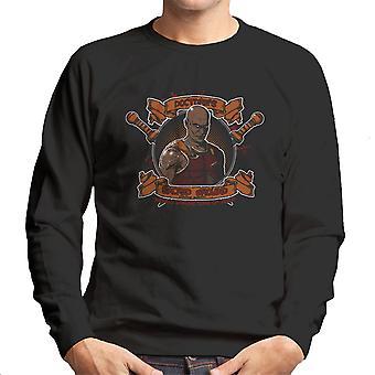 Doctores hellige jorden kæmper Academy Spartacus mænds Sweatshirt