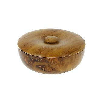 Vulfix Small Wooden Bowl and Shaving Soap
