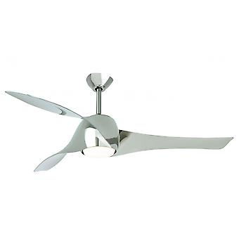 Ceiling Fan Artemis Liquid Nickel 147 cm / 58