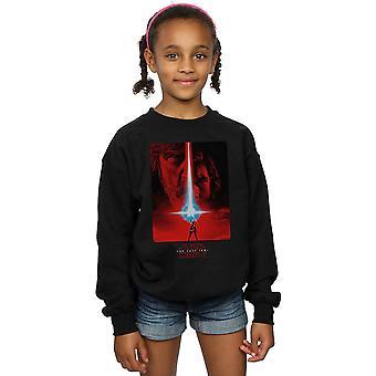 Star Wars Girls The Last Jedi Red Poster Sweatshirt