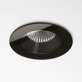 Astro Vetro Round Fire Rated Black