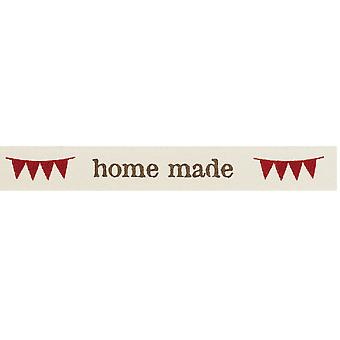 15mm  'Home Made' Decorative Ribbon for Crafts - 4m | Ribbons & Bows for Crafts
