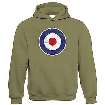 Retro MOD RAF Target Hoodie (S to 5XL)
