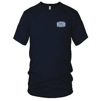 USAF Airforce - sikkerhed politi pensioneret broderede Patch - Herre T-shirt