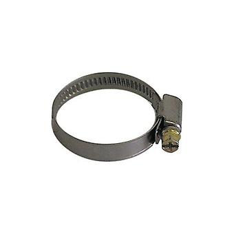 NQ White hose clamp 20-32 mm, stainless steel, 2 PCs.