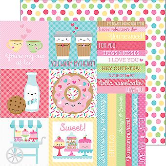 Cream & Sugar Double-Sided Cardstock 12
