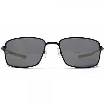 Oakley Limited Edition Square Wire Sunglasses In Matte Black Iridium Polarised