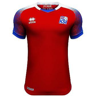 2018-2019 Iceland Third Errea Football Shirt