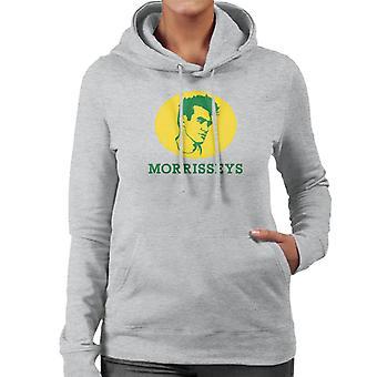 Felpa con cappuccio Morrisseys Face Morrisons Logo Women